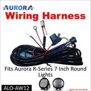 Aurora LED Light Wiring Harness Kit R-Series Round LED Light - LED Accessories Wiring Harness
