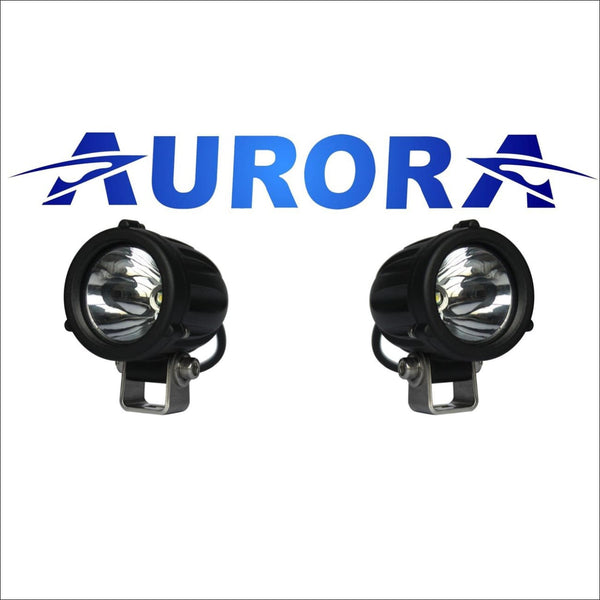 Aurora 2 Inch Lasers Round LED Light Pod - 1 800 Lumens - LED Driving Light