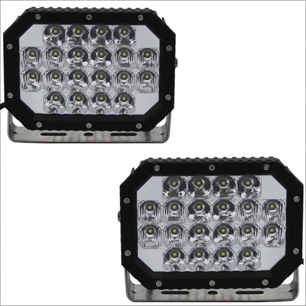Aurora 6 Inch Quad off road LED Light SAE Compliant - 14 760 Lumens - LED Driving Light