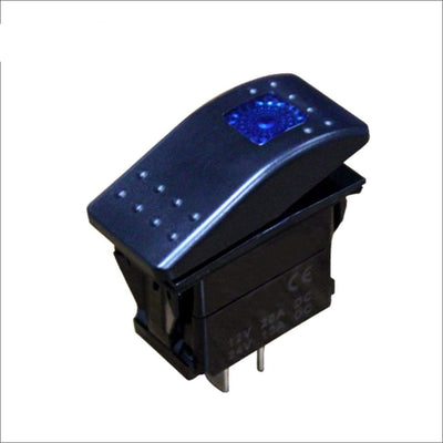 Aurora Rocker Light Bar Switch - SPST - LED Accessories Switch