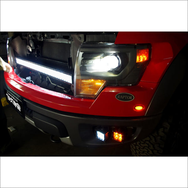 Ford Raptor LED Upper Grill Mounting Kit for 40 LED Light Bar by Aurora - Light Bar Mount