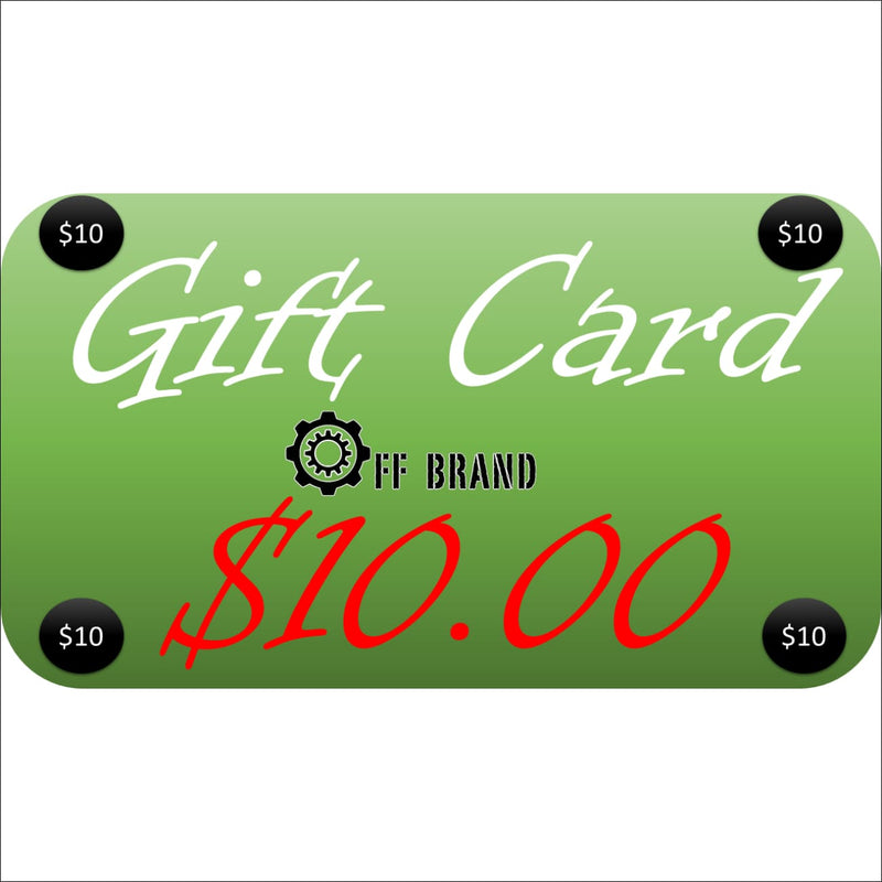 Gift Cards - $10.00 USD - Gift Card