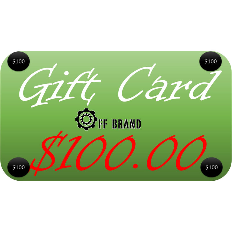 Gift Cards - $100.00 USD - Gift Card