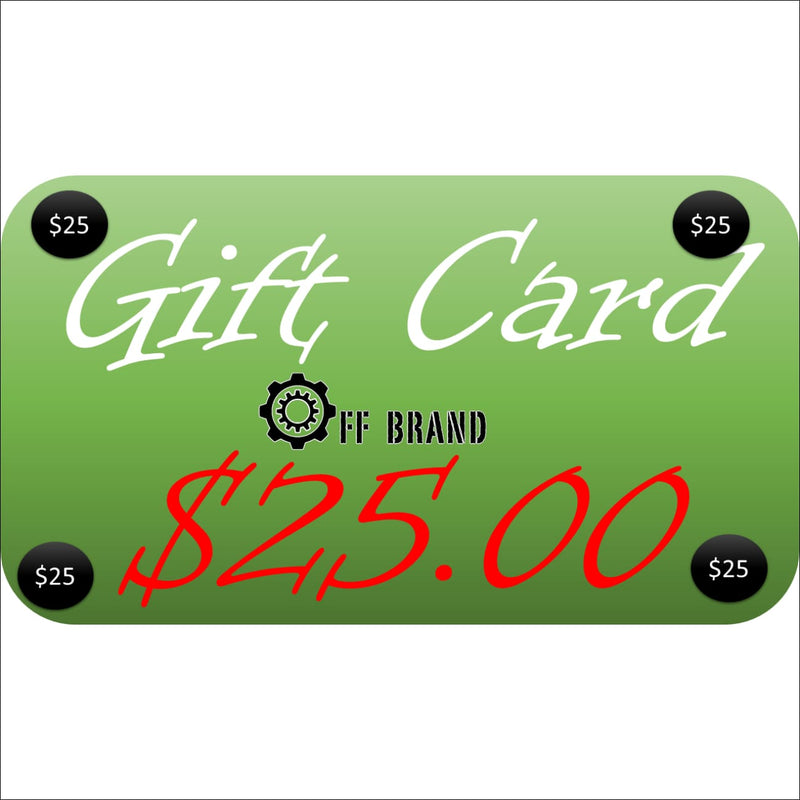 Gift Cards - $25.00 USD - Gift Card