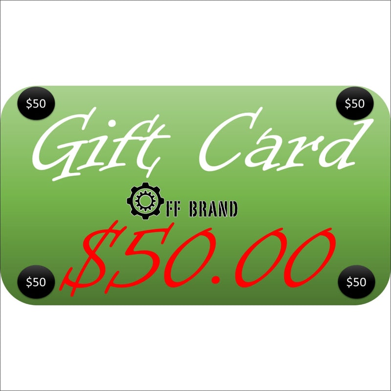 Gift Cards - $50.00 USD - Gift Card