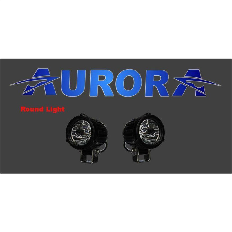 Jeep Wrangler JK 2007-2017 50 Light Bar & LED Cube Light Kit by Aurora - 2 Inch Round - Bundle