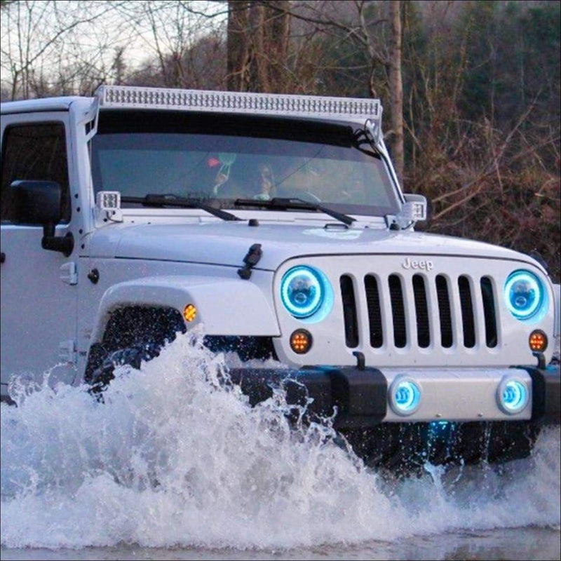 Jeep-wrangler-50-inch-white-light-bar-kit