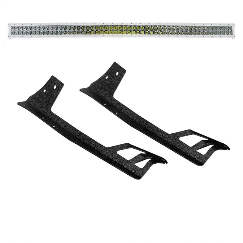 Jeep-wrangler-50-inch-white-light-bar