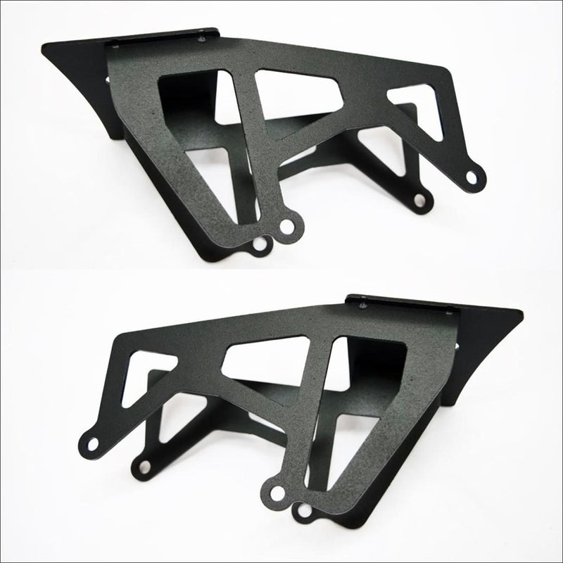 Jeep Wrangler JK dual light pod mounts