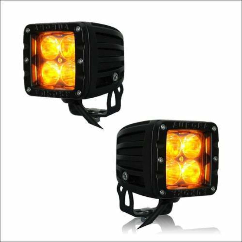 Jeep Wrangler Amber light pods