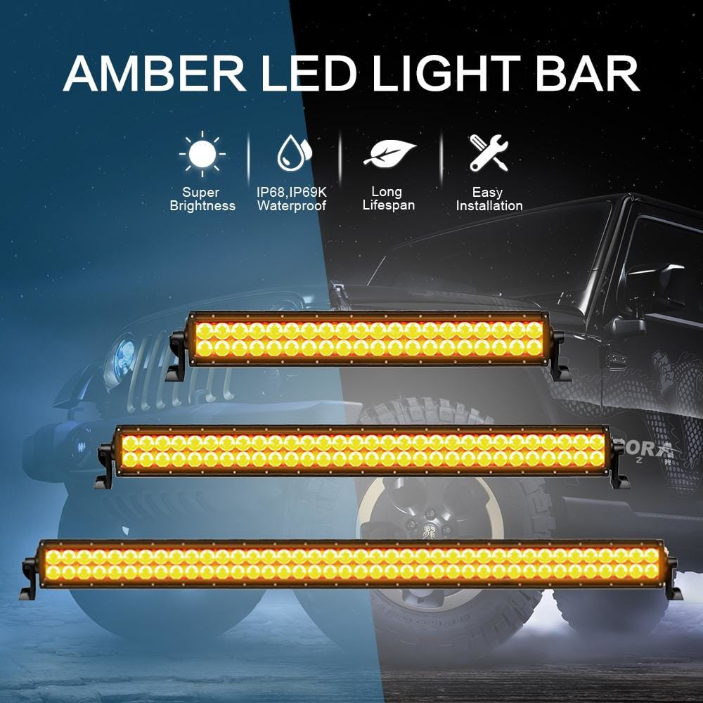 aurora amber led light bars
