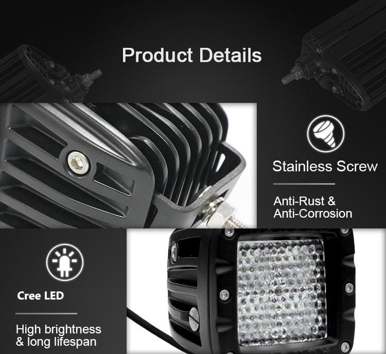 aurora led light diffused lights