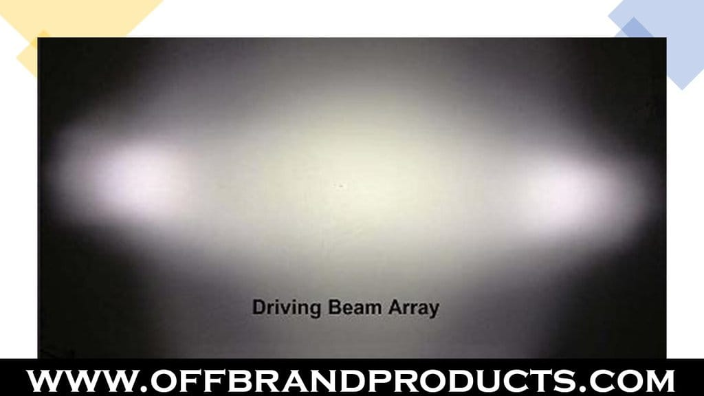 light bar driving beam