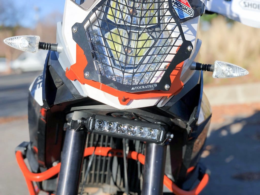 KTM-adventure-bike-led-light-bar-aurora-6-inch-nssr-series