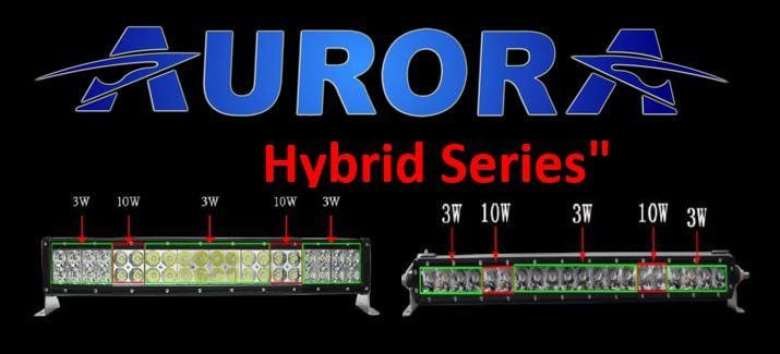 aurora hybrid series light bar Polaris general