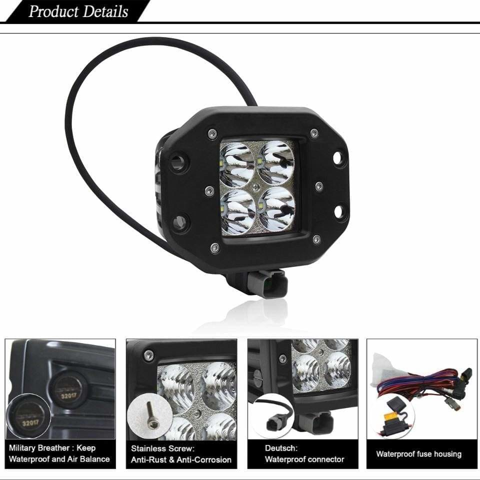 Everything you need to know about Flood Pattern LED Light Pods