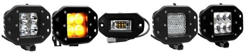 Aurora Flush mount LED Lights
