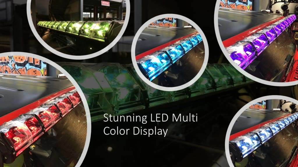 aurora evolve led light bar rigid adapt led light bar colored led light bar