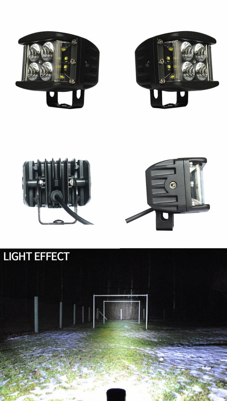 aurora led side shooters