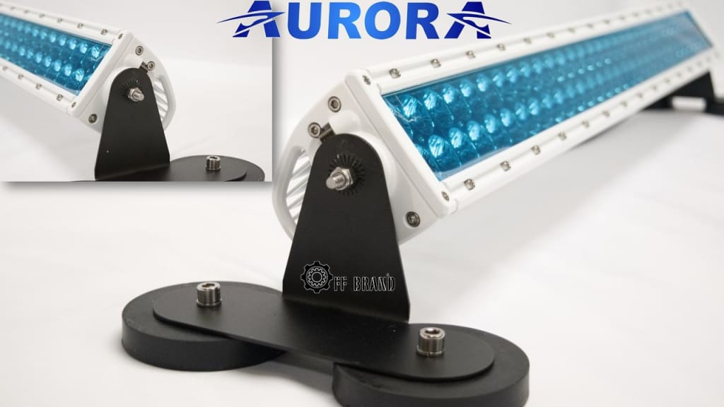 How to use an Aurora LED light bar as an ATV headlight
