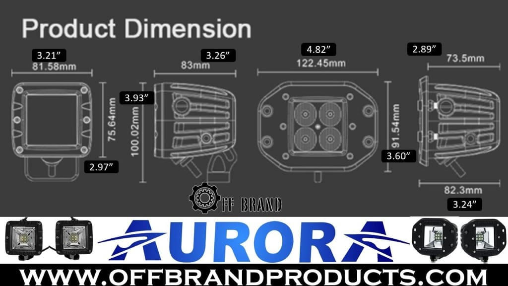 Aurora-led-wide-angle-scene-beam-diemensions
