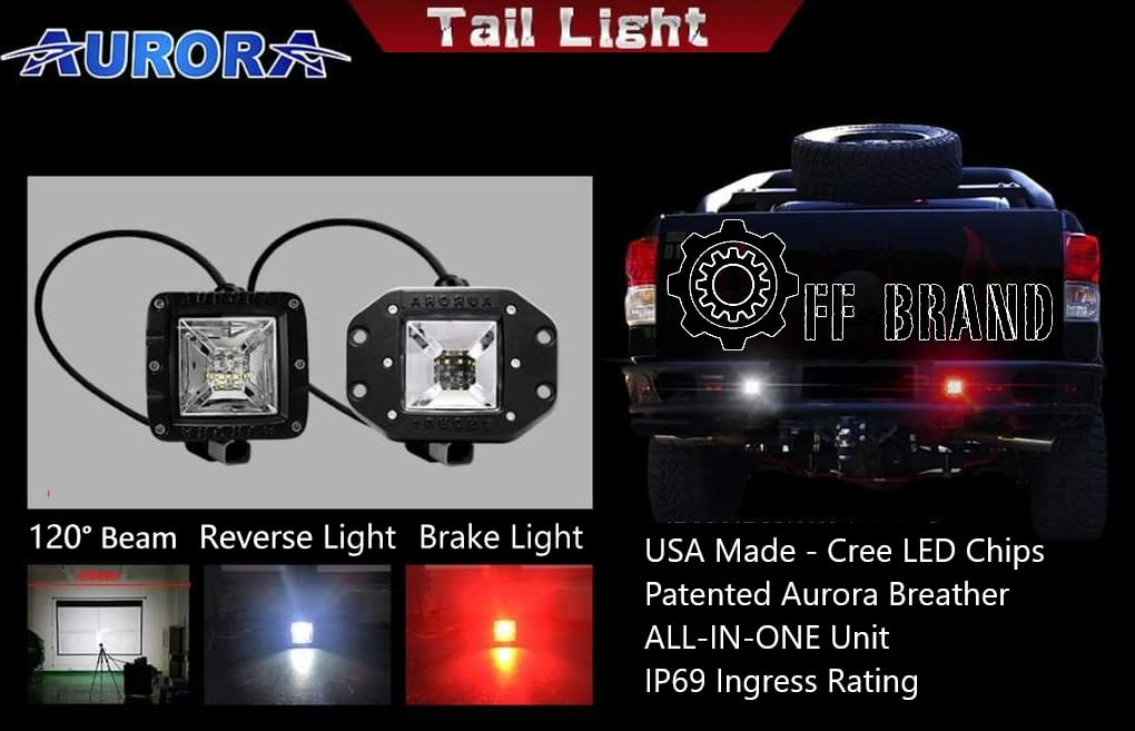 aurora LED reverse lights - led brake lights