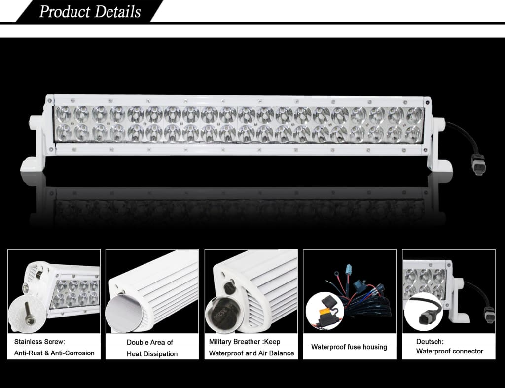 Best Aurora led boat light bar for Pathfinder bay boat