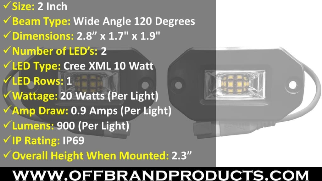 aurora wide angle scene beam led light flush mount