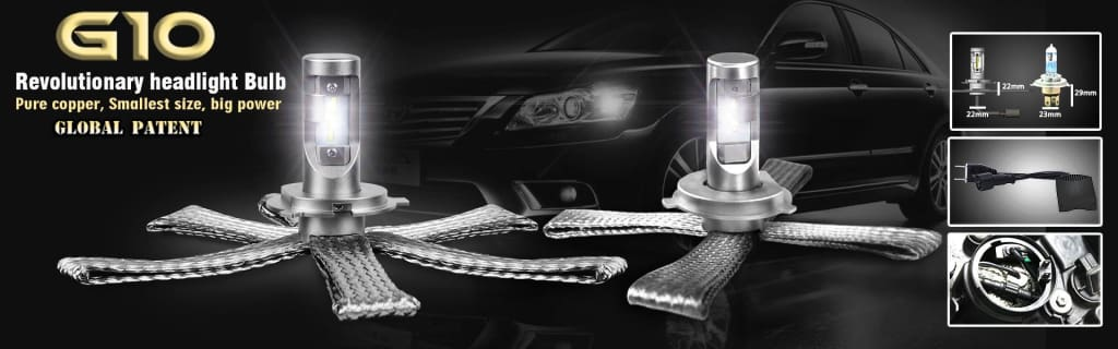 aurora led headlights aurora g10 led headlights