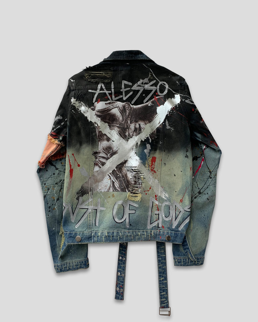 Wings of Dust Denim Jacket