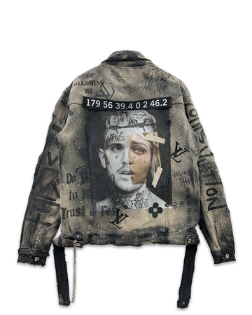 Dusted Peep Denim Jacket