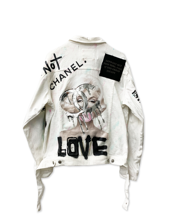 This is Not Marilyn's Chanel White Jacket