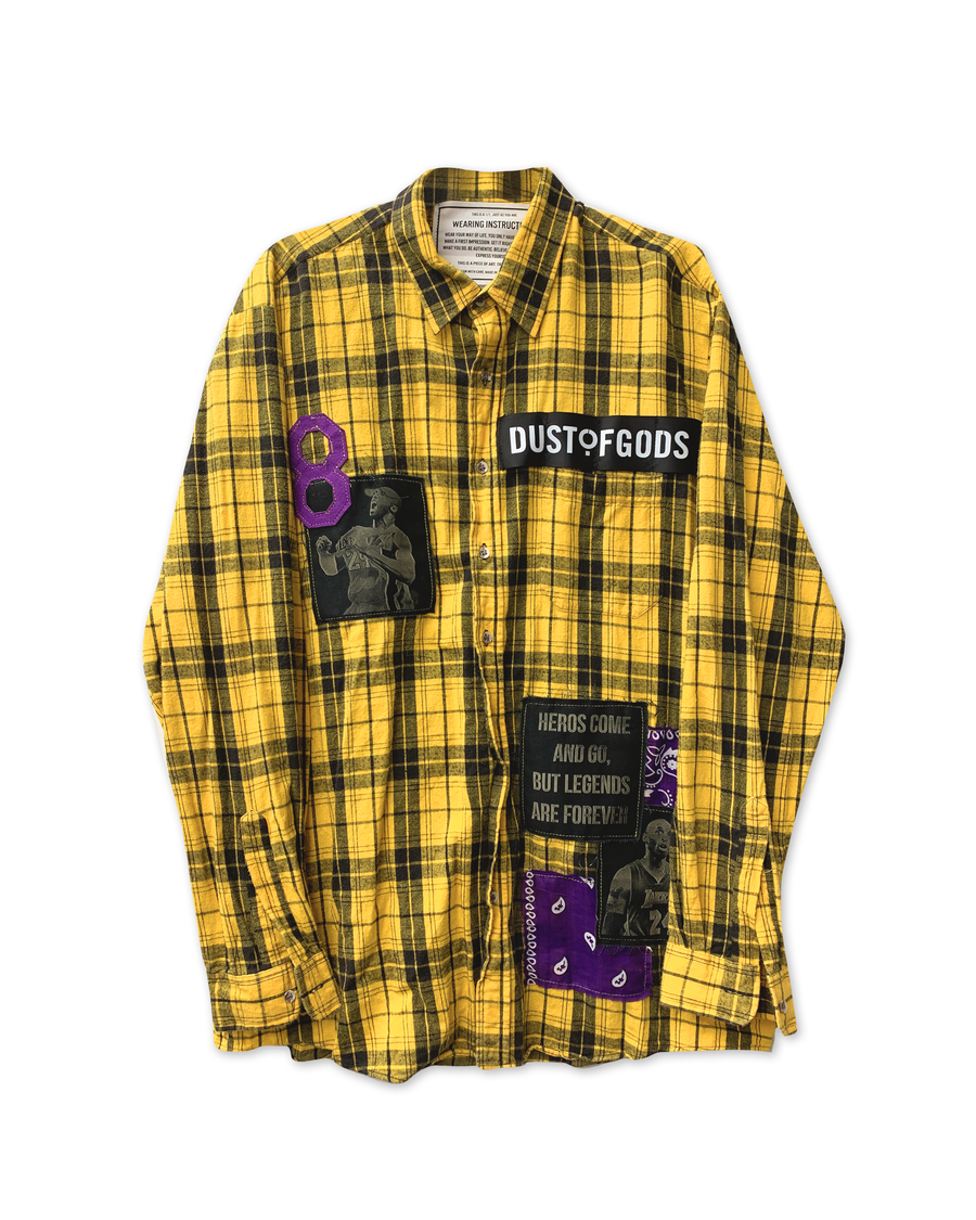 MAMBA FOREVER PLAID SHIRT