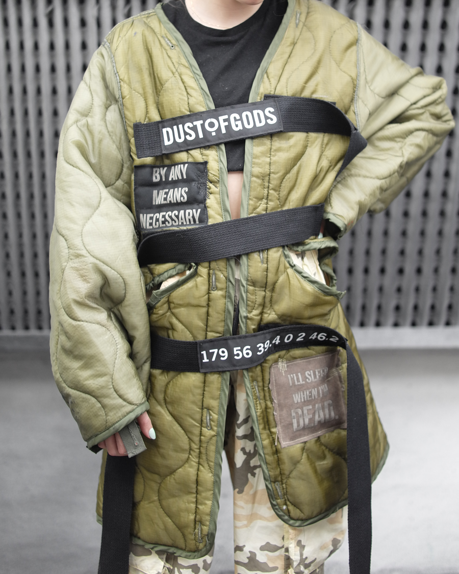 Dust of Gods Military Liner Jacket