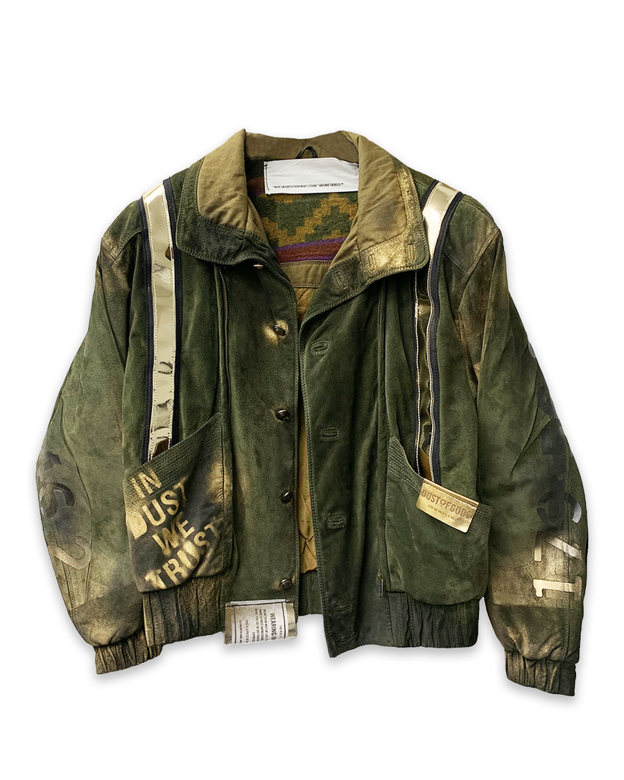 The King Military Bomber Jacket