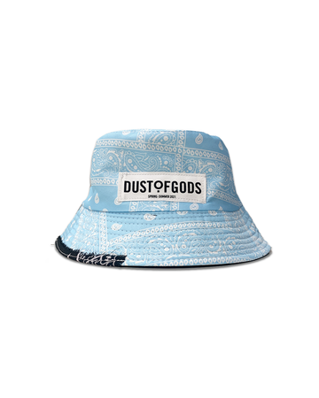 DOG Light Blue Bucket Hat