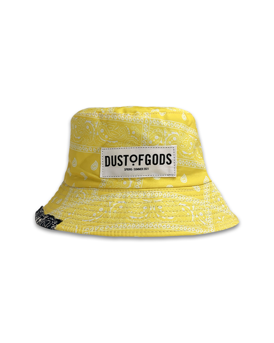 DOG Yellow Bucket Hat