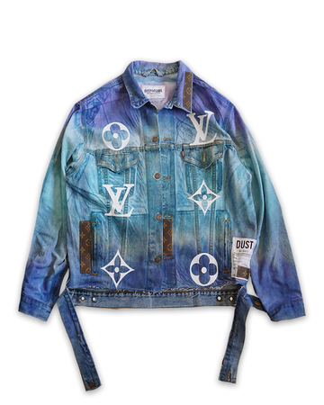This Is Not LV Blue Sky Denim Jacket