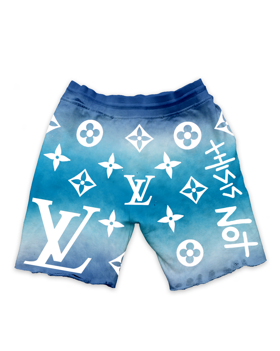 This Is Not LV Blue Sky Shorts