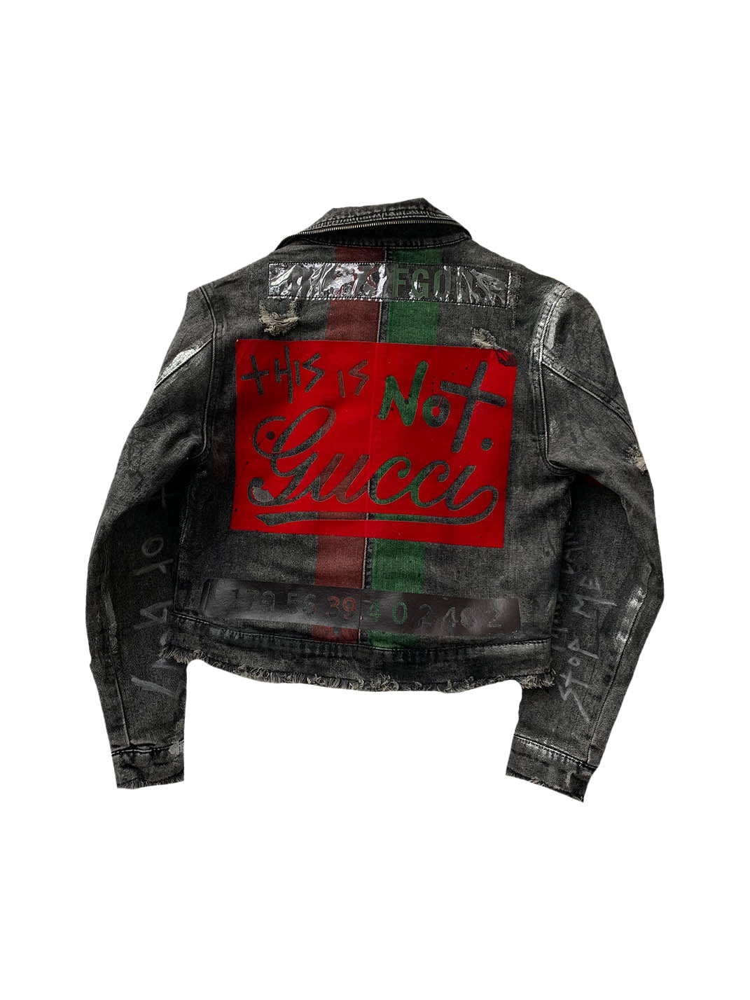 42cce6570b3 Baby Dust This Is Not Gucci Denim Jacket