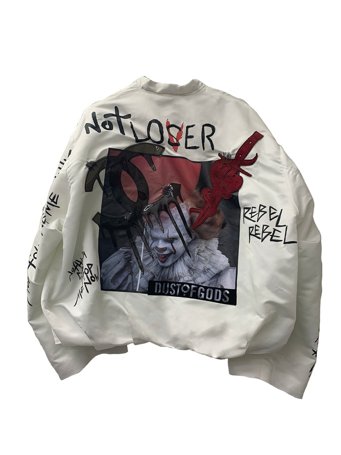 LOVER / not lover bomber JACKEt