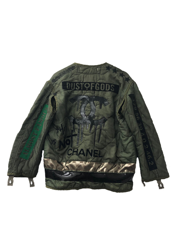 This is Not Chanel Military Jacket