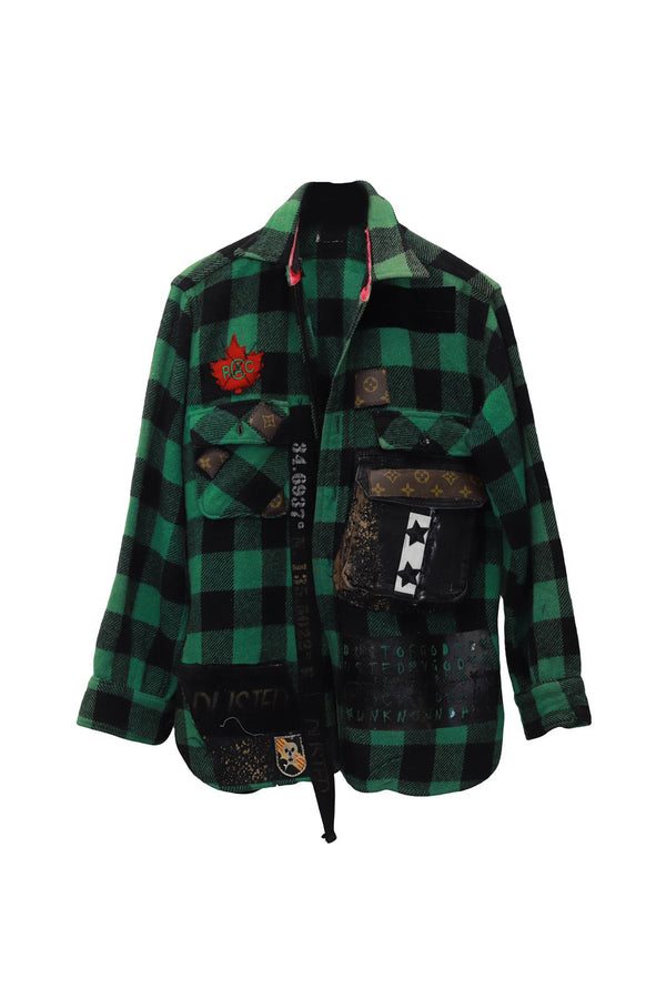 This Is Not LV Plaid Shirt