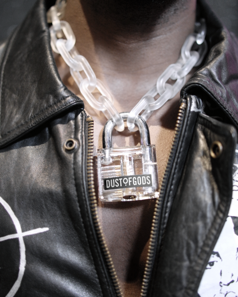 Dust of Gods Chain Lock Necklace