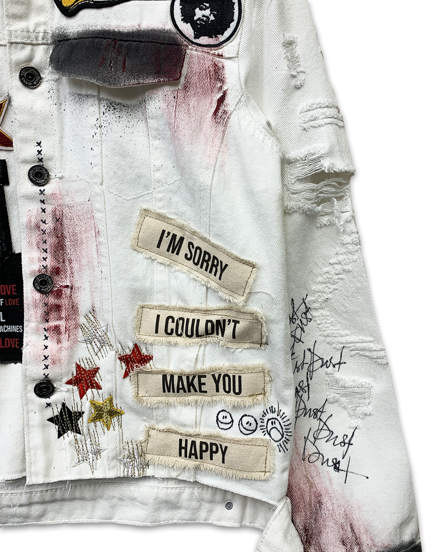 Everything Hurts Denim Jacket