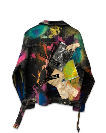 Life In Color Denim Jacket