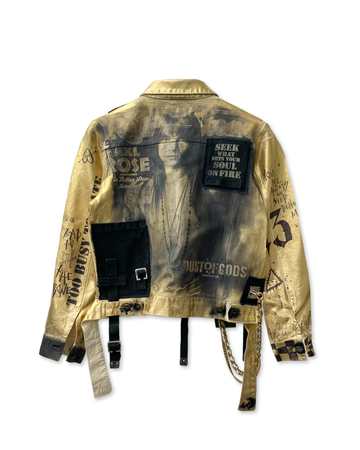 Dust N Roses Golden Jacket