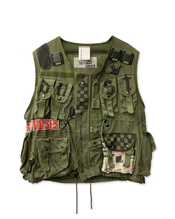 Dust N Roses Tactical Vest