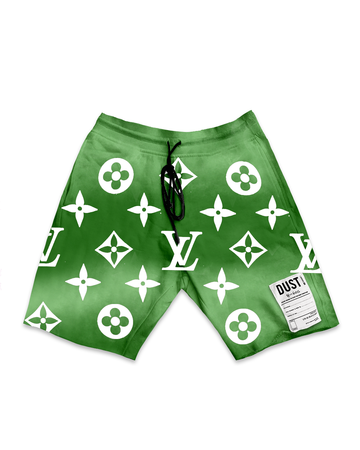 This Is Not LV Green Sky Shorts