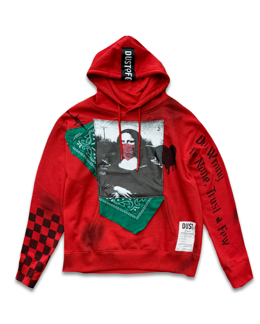 Take You Dancing Red Hoodie